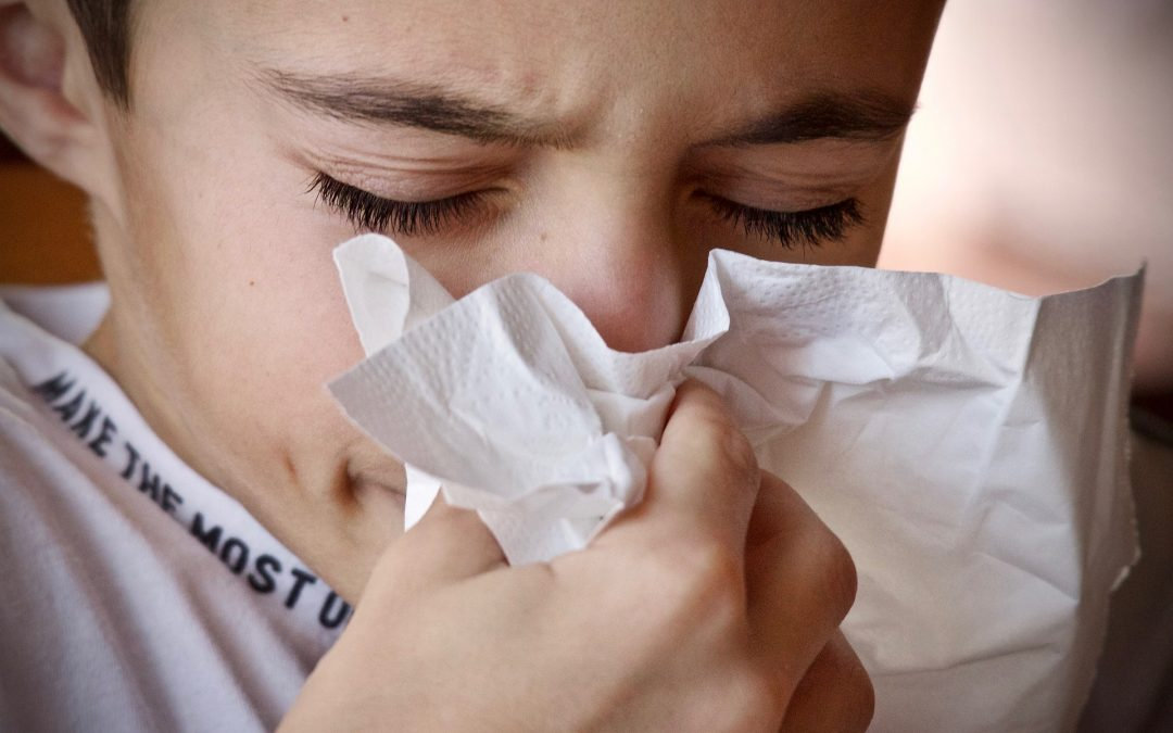 Coughs and sneezes spread diseases!